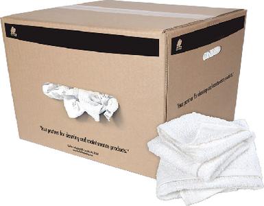 BUFFALO RAGS HEMMED HALF TOWEL 50LB BOX (10821)