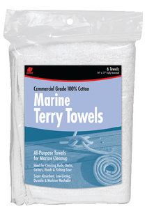 MARINE COTTON TERRY TOWELS (#199-60249) - Click Here to See Product Details