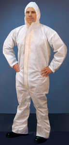 MICRO-POROUS HOODED COVERALL (#199-68254) - Click Here to See Product Details