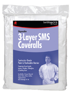 SMS DISPOSABLE COVERALLS (#199-68522) - Click Here to See Product Details