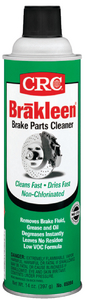BRAKLEEN<sup>®</sup> LOW VOC, NON-CHLORINATED BRAKE PARTS CLEANER - Click Here to See Product Details