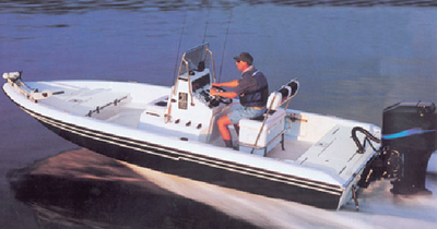 V-HULL CENTER CONSOLE SHALLOW DRAFT FISHING BOATS (#500-71222P) - Click Here to See Product Details
