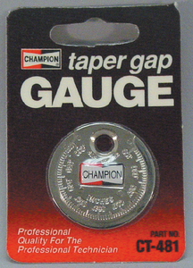 SPARK PLUG GAP GAUGE (#24-CT481) - Click Here to See Product Details