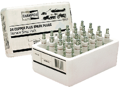 SHOP PACK SPARK PLUGS (#24-J4CSP) - Click Here to See Product Details