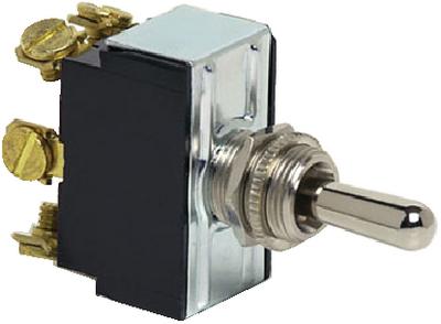 HEAVY-DUTY DOUBLE POLE TOGGLE SWITCH (#12-5592BP) - Click Here to See Product Details