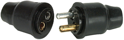 ROUND BODY TYPE CONNECTOR (#12-M121BP) - Click Here to See Product Details