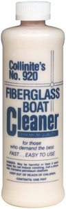FIBERGLASS BOAT CLEANER - Click Here to See Product Details