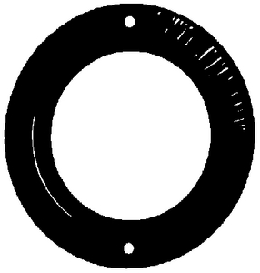 3  TILLER ROPE GROMMET  BLACK - Click Here to See Product Details