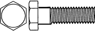 MARINE FASTENERS 1/4-20X3 HX HEAD CAP SS 100/BX (HHCSSS1/4C3-P100)