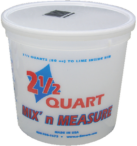 MIX 'N MEASURE CONTAINERS (#320-61000) - Click Here to See Product Details