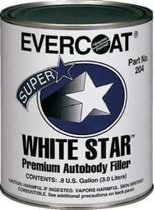 WHITE STAR<sup>TM</sup> BODY FILLER - Click Here to See Product Details