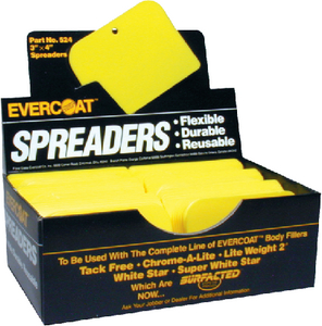 PLASTIC SPREADERS (#75-100524) - Click Here to See Product Details