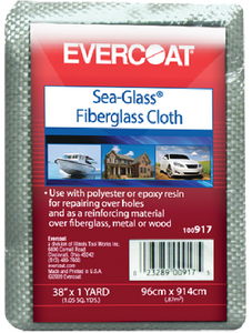 SEA-GLASS FIBERGLASS CLOTH (#75-100918) - Click Here to See Product Details