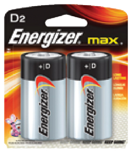 ENERGIZER ALKALINE BATTERIES (#333-E95BP2) - Click Here to See Product Details
