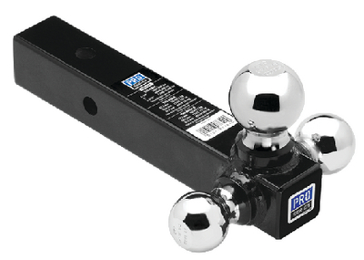 TRI-BALL HOLLOW SHANK BALL MOUNT (#220-80426) - Click Here to See Product Details