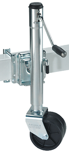 HEAVY-DUTY DUAL WHEEL BOLT-ON SWIVEL JACK (#220-XPD15L0101) - Click Here to See Product Details