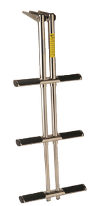 TELESCOPING STAINLESS STEEL SPORT/DIVER LADDER (#3-19626) - Click Here to See Product Details