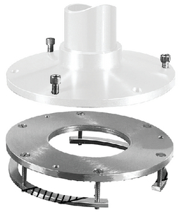 DETACHABLE STANCHION PLATE - RINGS (#3-75057) - Click Here to See Product Details