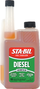 DIESEL FORMULA STA-BIL<sup>®</sup> FUEL STABILIZER - Click Here to See Product Details