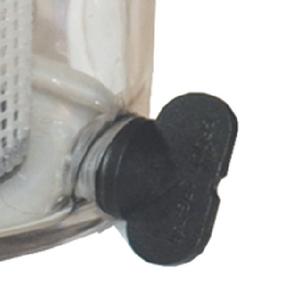 GROCO ARG STRAINER WINGNUT W/WASHER (ARG-756)