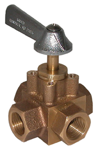 4 PORT TANK SELECTOR VALVE (#34-FV450X) - Click Here to See Product Details