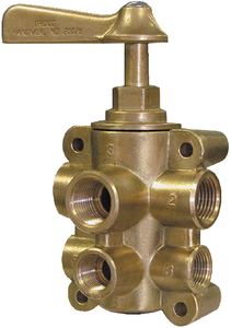 6 PORT FUEL VALVE (#34-FV65038) - Click Here to See Product Details