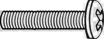 MACHINE SCREWS - PHILLIPS PAN HEAD (#8-752) - Click Here to See Product Details