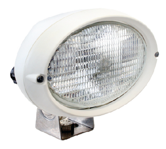 OVAL 100 SERIES HALOGEN DECK FLOODLIGHT (#265-996361131) - Click Here to See Product Details