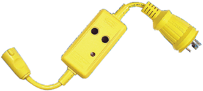 ADAPTER WITH GFCI 30 (#36-HBL105GF) - Click Here to See Product Details