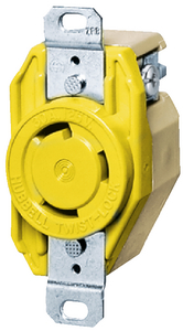 30A TWIST-LOCK<sup>®</sup> RECEPTACLE (#36-HBL26CM10) - Click Here to See Product Details