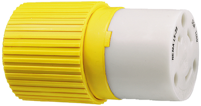 30 AMP LOCKING PLUG & CONNECTOR (#36-HBL305CRC) - Click Here to See Product Details