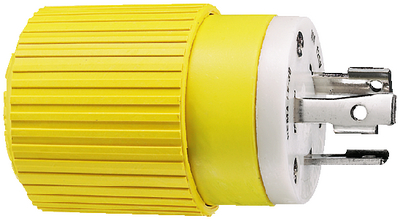 30 AMP LOCKING PLUG & CONNECTOR (#36-HBL305CRP) - Click Here to See Product Details