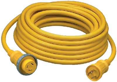 30A 125V SHORE POWER CABLE SETS (#36-HBL61CM05) - Click Here to See Product Details