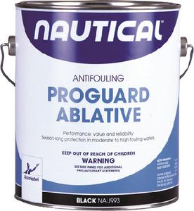 NAUTICAL PAINT PROGUARD ABLATIVE BLACK GALLON (993/1)