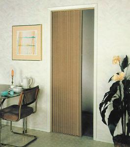 IRVINE SHADE & DOOR PLEATED FOLDING DOOR BEIGE (3675FB)