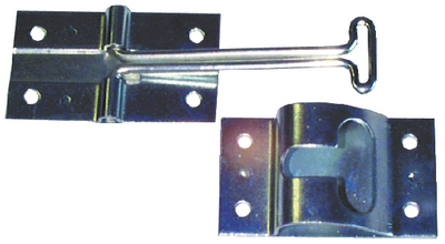 """JR PRODUCTS 4"""" STAINLESS STEEL T-STYLE (10515)"""