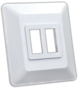 JR PRODUCTS DOUBLE SWITCH BASE (13615)