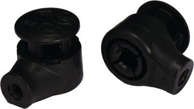 JR PRODUCTS REPLACEMANT END FITTINGS 2/PKG (EF-PS130)