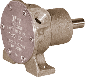 PULLEY DRIVEN ENGINE COOLING & GENERAL PURPOSE PUMPS (#6-26201101) - Click Here to See Product Details