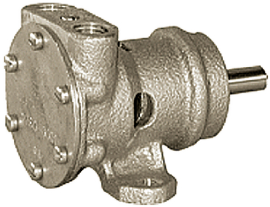 PULLEY DRIVEN ENGINE COOLING & GENERAL PURPOSE PUMPS (#6-27600001) - Click Here to See Product Details