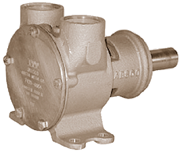 PULLEY DRIVEN ENGINE COOLING & GENERAL PURPOSE PUMPS (#6-74201001) - Click Here to See Product Details