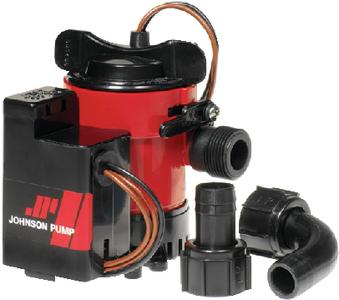 JOHNSON PUMP/MAYFAIR 1000 GPH ELECTROMAG COMBO BILG (05903-00)