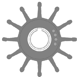 IMPELLER REPLACEMENT KITS (#189-09704BT1) - Click Here to See Product Details