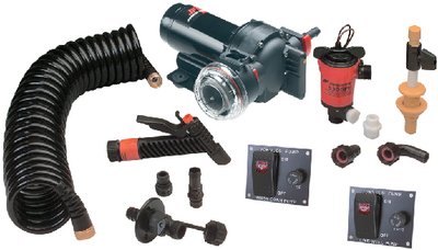AQUA JET<sup>TM</sup> WASHDOWN/LIVEWELL PUMP KIT 5.2 (#189-64634) - Click Here to See Product Details