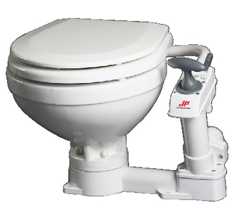 AQUA-T<sup>TM</sup> COMPACT MANUAL TOILET (#189-804722901) - Click Here to See Product Details