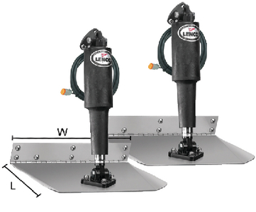 STANDARD ELECTRIC TRIM TAB KIT 12 VOLT (#622-15000101) - Click Here to See Product Details