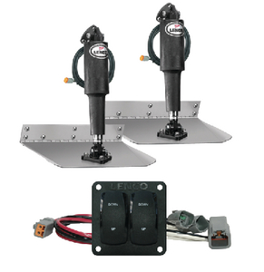 STANDARD ELECTRIC TRIM TAB KIT 12 VOLT (#622-15103104) - Click Here to See Product Details
