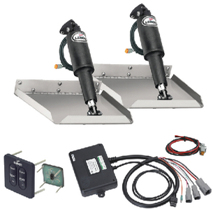 EDGE MOUNT ELECTRIC TRIM TAB KIT 12 VOLT (#622-15106102) - Click Here to See Product Details