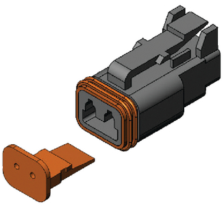 REPLACEMENT DEUTSCH CONNECTORS (#622-15107001) - Click Here to See Product Details
