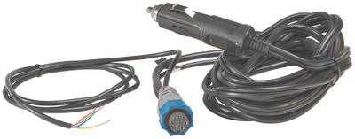 LOWRANCE CIGARETTE PLUG POWER CABLE (000-0119-10)